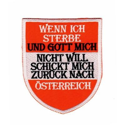 """Patch """"Österreich"""""""