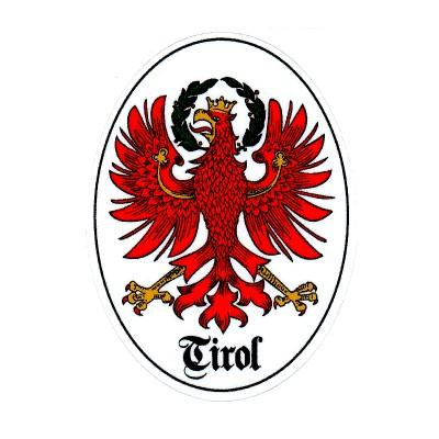 """Aufkleber """"Tirol"""""""