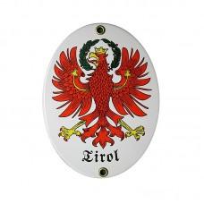 """Emailleschild """"Tirol"""""""