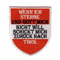 "Patch ""TIROL"""